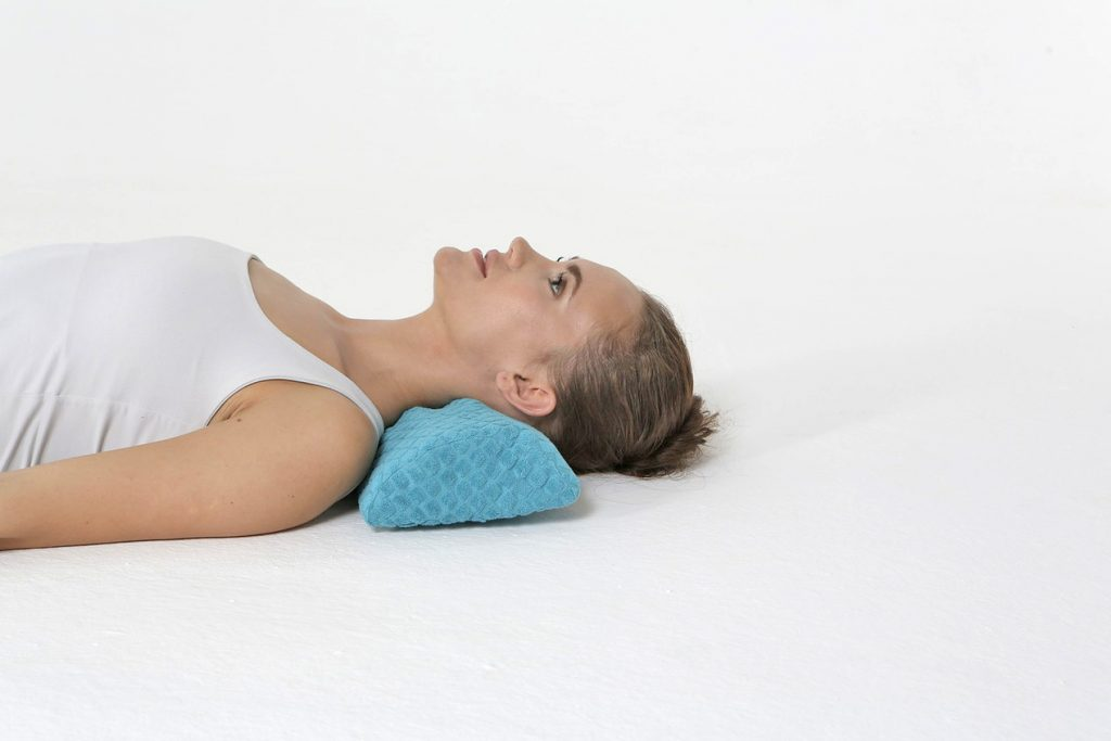 Cervical traction pillow Detensor