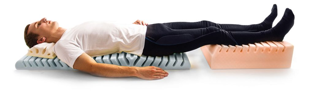 Detensor spinal traction mat